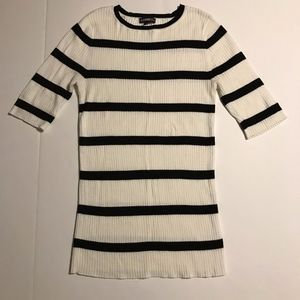Express Long Striped Sweater